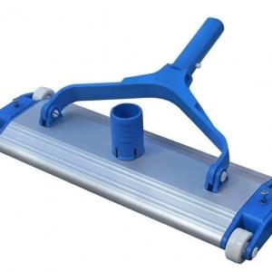 Barrefondo de aluminio con ruedas y cepillo de 35 cm
