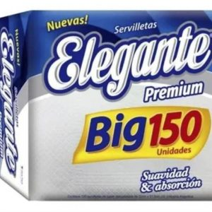 Servilletas Elegante Premium Big 150 Unidades
